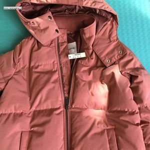 22359588e43 NWT madewell quilted down puffer parka NWT